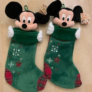 3D Mickey Mouse Stockings